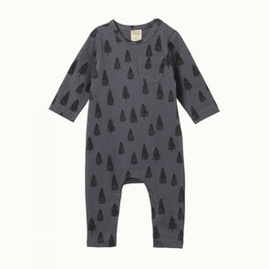 Nature Baby Long Sleeve Romper Woodland