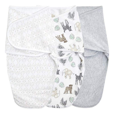 Aden + Anais Wrap Swaddle 3pk Toile