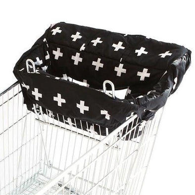 Bambella Trolley Liner Black Cross