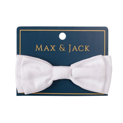 Charlie Bow Tie White