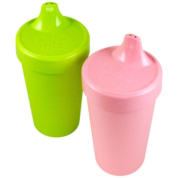 Replay Sippy Cup 2pk Baby Pink/Green