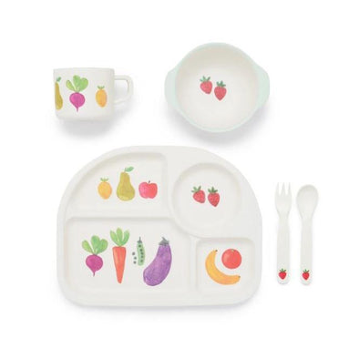 Pure Baby Farmers Market Dinnerware Set