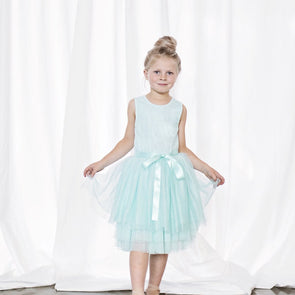 Ice Princess Short Sleeve Tutu Aqua