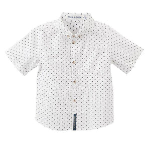 Hunter Arrow Print Shirt SS White