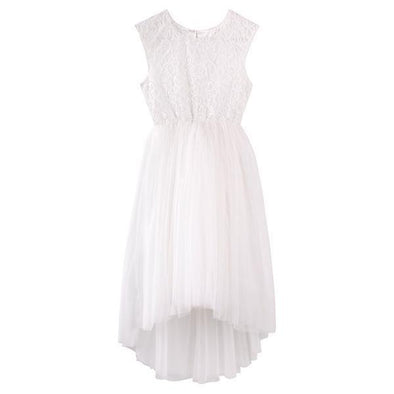 Delilah Lace Dress Ivory