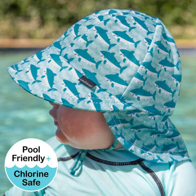 Shark Legionnaire UPF50+ Swim Hat