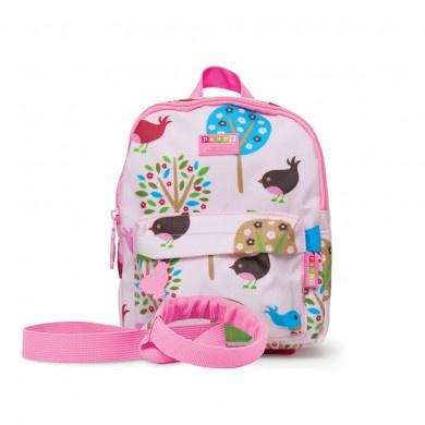 Penny Scallan Mini Backpack With Rein Chirpy Bird