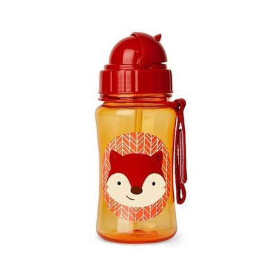 Skip Hop Straw Bottle Fox