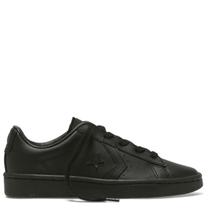 Converse Junior Low Top Pro Leather Black