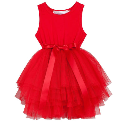 My First Christmas Tutu Red