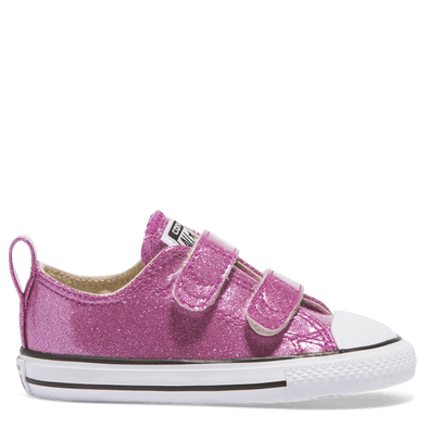 Converse Toddler 2V Low Violet Glitter