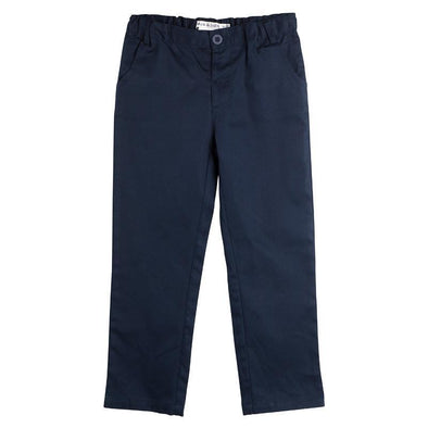 Sam Navy Linen Pants