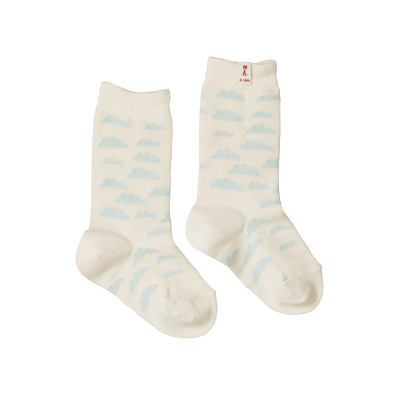 Nature Baby Organic Cotton Socks Clouds