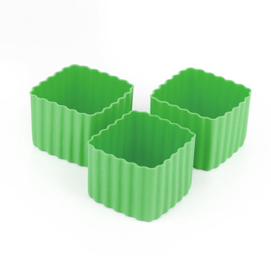 Bento Cups Square Green