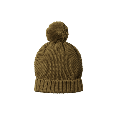 Nature Baby Ahoy Pom Pom Beanie Fir Green