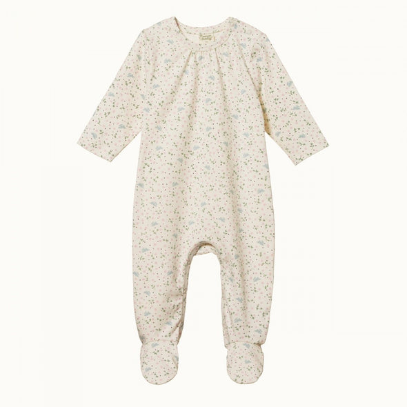 Nature Baby Stretch Jersey Florence Suit Sweet Pea