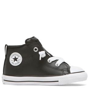 Converse Toddler Mid Street Spring Leather Black
