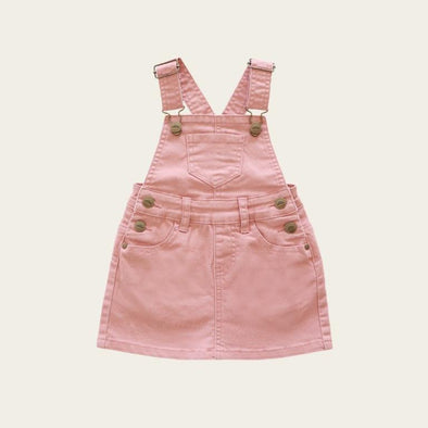 Jamie Kay Chloe Denim Overall Dress Rose