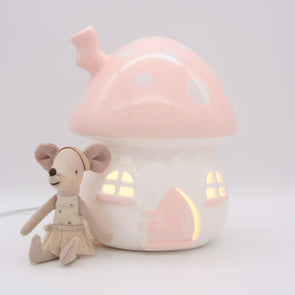 Little Belle Nightlight Pink & White