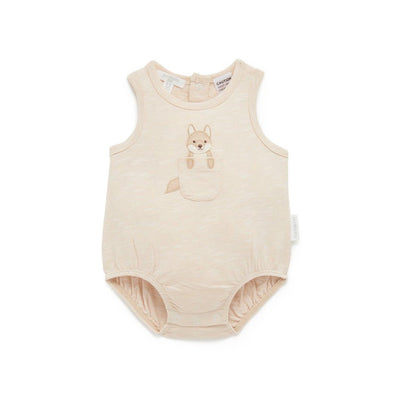 Pure Baby Coyote Bodysuit