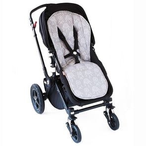 Bambella Designs Pram Liner Grey Dreamcatchers