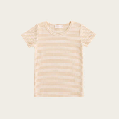 Jamie Kay Tommy Tee Honey Peach Stripe