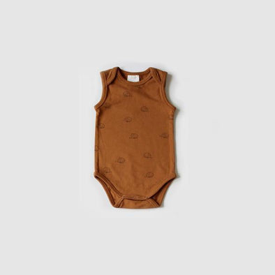 The Rest Camper Sleeveless Bodysuit