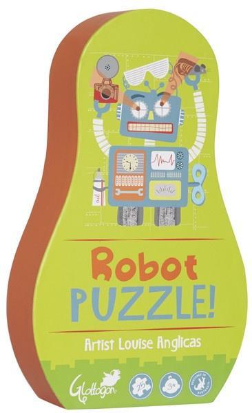 People Puzzle Robot