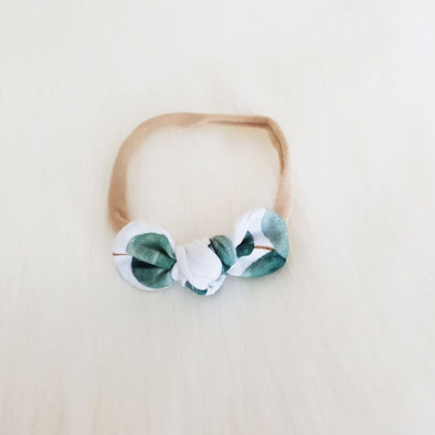 Eucalyptus Mini Bow Headband