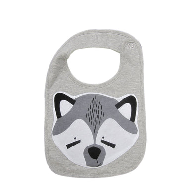 Raccoon Face Bib
