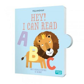 Sassi Hey I Can Read Pull & Play Book