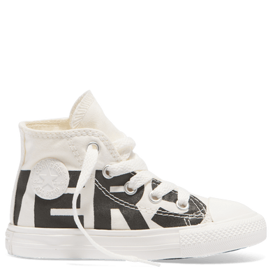 Converse Toddler Wordmark High Top Natural