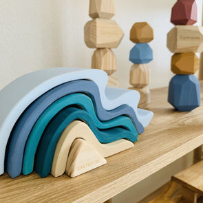 Earthside Stacking Wave Blue