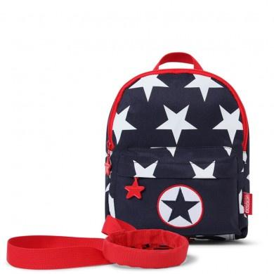 Penny Scallan Mini Backpack With Rein Navy Star