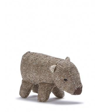 Wally The Wombat Baby Rattle