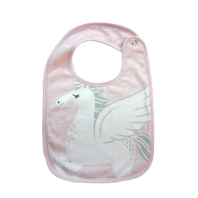 Unicorn Face Bib