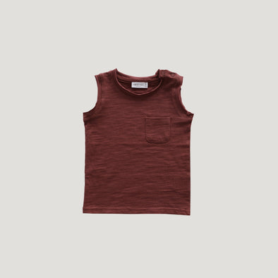 Jamie Kay Slub Cotton River Tank Clay