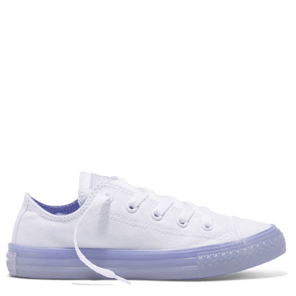 Converse Junior Low Top Translucent Twilght Pulse