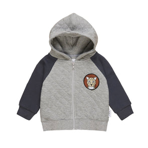 Huxbaby Quilted Hoodie