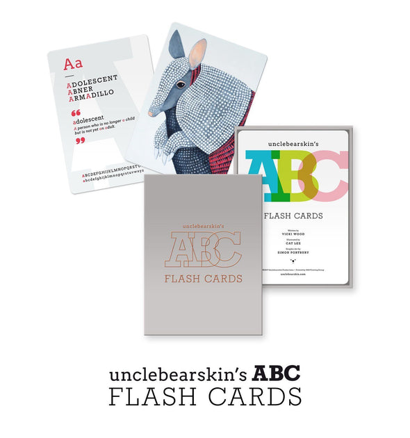 Uncle Bearskin's ABC Flash Cards