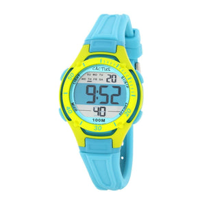 Wave Tech Digital Watch Aqua
