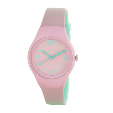 Ombre Waterproof Watch Pink