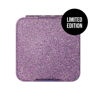Bento Three Glitter Purple