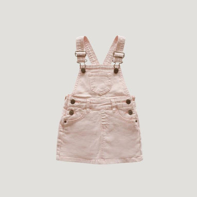 Jamie Kay Chloe Denim Overall Dress Petal