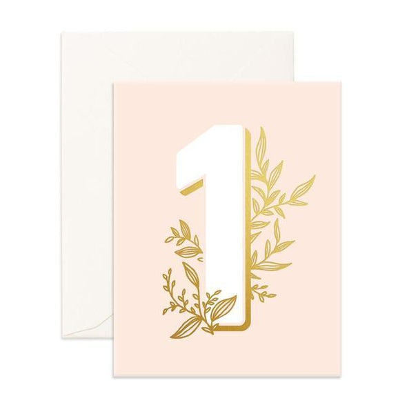 Fox & Fallow Card Floral One