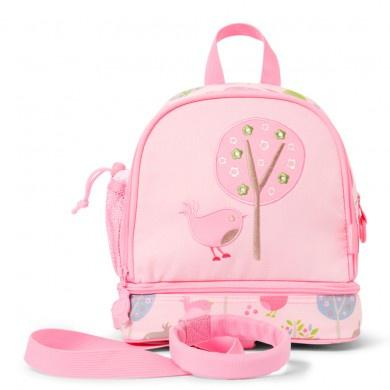Penny Scallan Junior Backpack With Rein Chirpy Bird