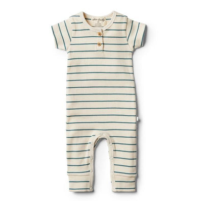 Wilson & Frenchy Jungle Green Stripe Growsuit