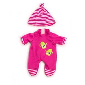 Miniland Clothing Pink Winter Pjs 21cm
