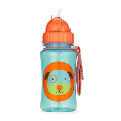 Skip Hop Straw Bottle Dog