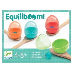 Djeco Equiliboom Egg & Spoon Game